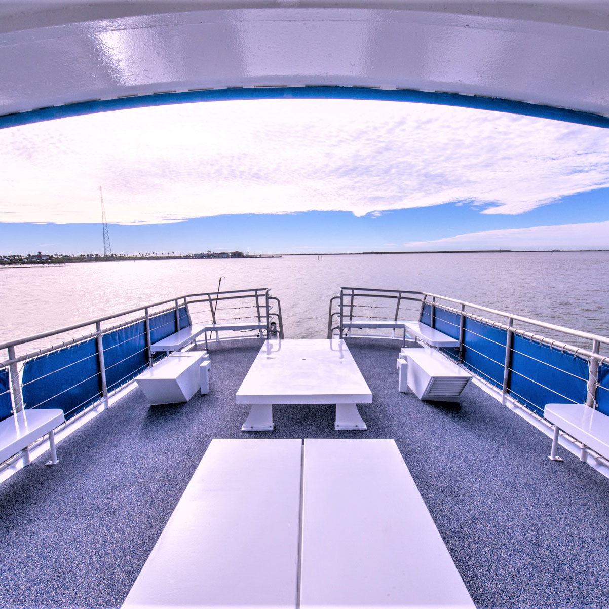 Private charter deck