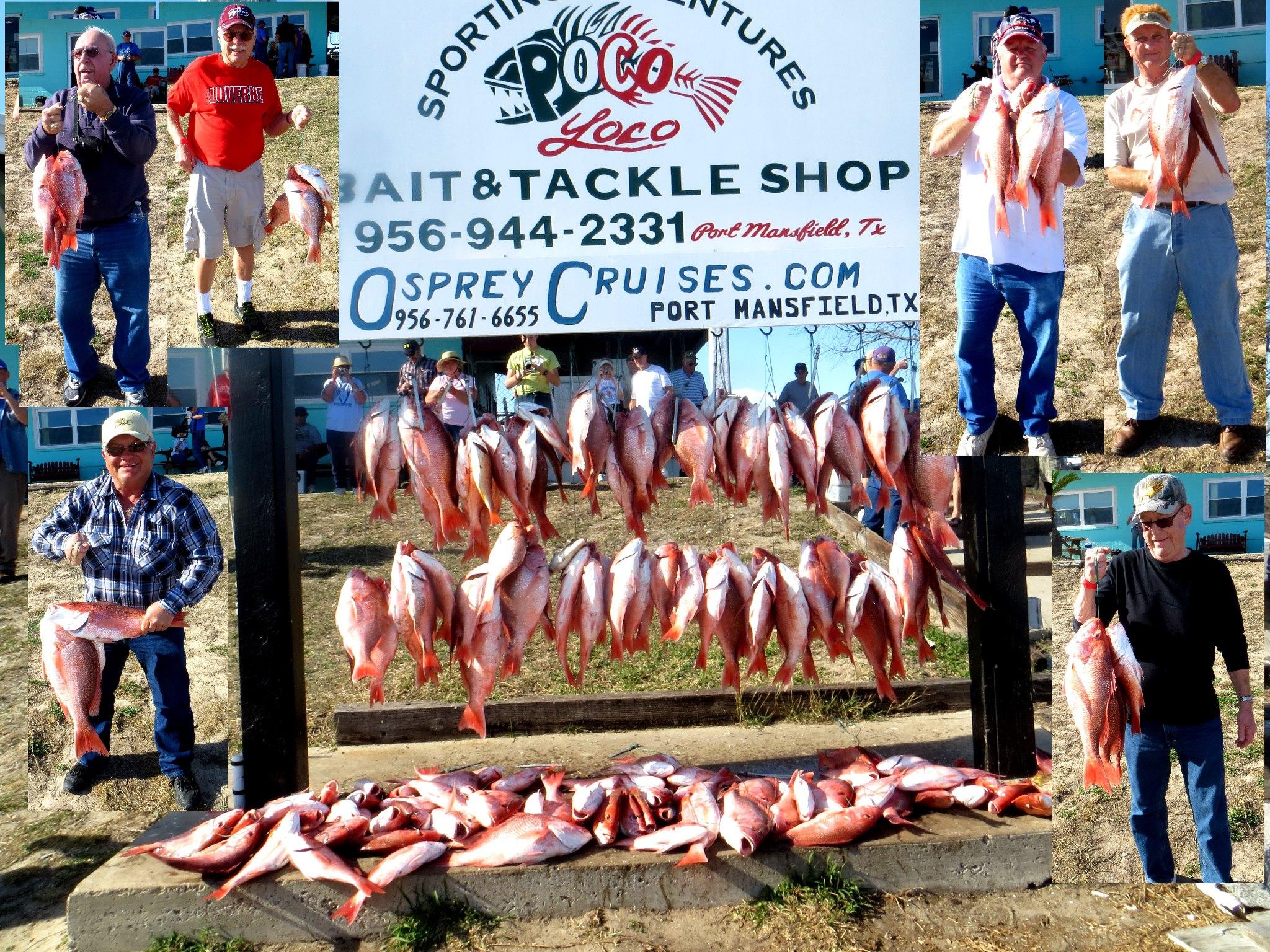 Port Mansfield seasonal fishing