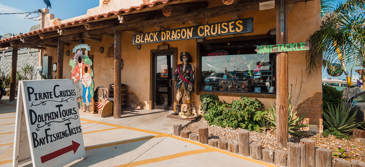Black Dragon Pirate Ship Cruises